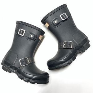 Hunter Biker Waterproof Rain Boot 10